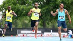 Tyson Gay wins Diamond League sprint in New York - Solar Sports Desk Diamond League, Solar, Gay, New York, Desk, Running, Sports, Hs Sports, New York City