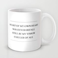BE THOU MY VISION Mug by Pocket Fuel - $15.00