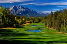 Golf Course in Canmore, AB - By Kristian Bogner Photography | Landscape Photography Gallery