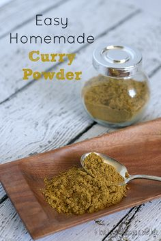 Easy Homemade Curry Powder - {i love} my disorganized life