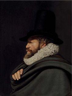Thomas de Keyser (Amsterdam 1596/7-1667), 'Portrait of a gentleman, bust-length',