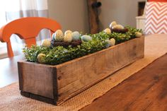 Rustic Barnwood Box (centerpiece or mantle accent) on Etsy, $20.00