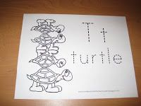 Preschool Letter T for Turtle   Confessions of a Homeschooler