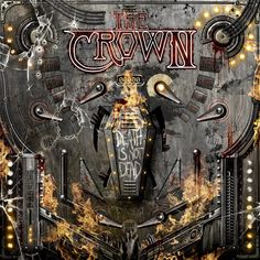 """After releasing their Headhunter single/7"""" last month, Sweden's THE CROWN is now ready to unleash another new track, this time from their upcoming album, Death Is Not Dead."""