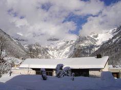 Engelberg, besneeuwde bergen