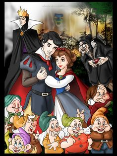 Snow+White+and+the+Seven+Dwarfs+by+rebenke.deviantart.com+on+@deviantART