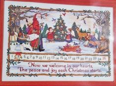 Dimensions-GOLD-Collection-JOYOUS-ADVENT-CALENDAR-KIT-Christmas-8532-RARE