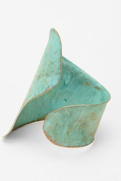 Sibilia Patina Brass Cuff..I usually don't like chunky jewelry, but this has me enchanted.