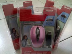 Microsoft Wireless Mobile Mouse 3000 (Pink)