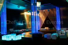 Salas Lounge - Deco Azules