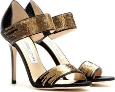 Tallow Snakeskin Sandals With Sequins #obsessed #style #jimmychoo #highheels #womenshoes #shoeobsessed #obsessory