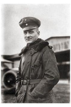 German Ace Red Baron von Richthofen