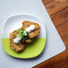 Ottolenghi's Cauliflower and Cumin Fritters with Lime Yogurt