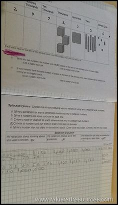 Our Interactive Math Notebooks