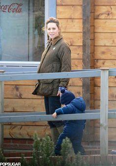 A very pregnant duchess