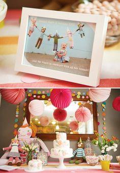 Playful Blabla Doll Party Theme {First Birthday}