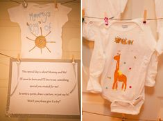 Im totally doing this for my friends baby showers... to my friends DONT COPY ME THIS IS ALL MINE BABY! :)