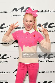 Jojo Siwa visits Music Choice on December 19, 2017 in New York City.