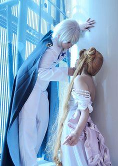 Prince Diamond and Princess Serenity