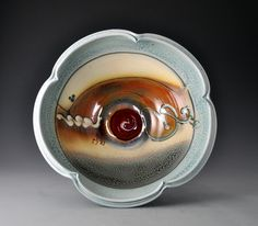 The Work - Loren Lukens. He does beautiful work. The edge of these bowls are exquisite. I am fortunate enough to own one.