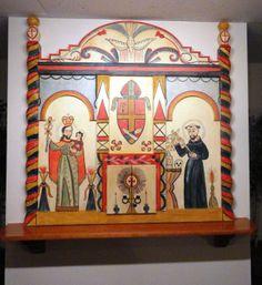Altar screen I created in 1987 for St. Joseph's Catholic Center in Albuquerque.