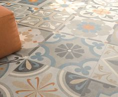 1000 images about sols on pinterest tile cement tiles - Carrelage imitation carreaux de ciment castorama ...