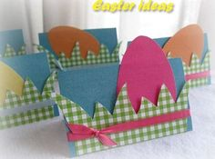 Easter ideas Easter Crafts, Fun Crafts, Diy And Crafts, Crafts For Kids, Easter Ideas, Butterfly Cards, Spring Crafts, Diy Tutorial, Holiday Decor