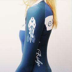 Adrienne (lotdeux) sporting Stanridge cycles skinsuit