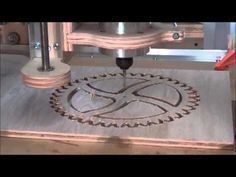 How to Build a CNC Router On A Shoestring Budget Part Eight - YouTube