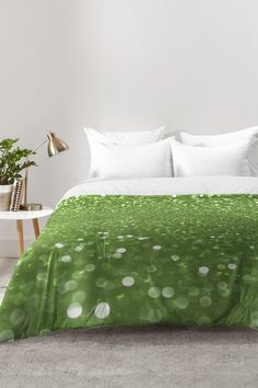 Bubbly Lime Comforter Set