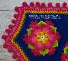 My edging for my Frida's Flower Field...