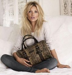 Longchamp - Kate Moss for Longchamp F/W 11 (preview)