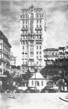 Edifício Sampaio Moreira na Rua Líbero Badaró  Ano: s/d  Autor: desconhecido