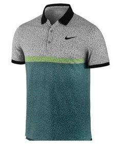 Herren Dri-Fit Touch Stripe Tennispolo Gym Shirts, Polo T Shirts, Sports Shirts, Golf Fashion, Mens Fashion, Casual Shirts For Men, Men Casual, Sport Shirt Design, Nike Wear