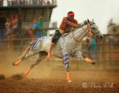 American Indian, the native people of this land adapted to horses rapidly. I often ponder how quickly they would have won the war against invading Europeans had they acquired horses sooner.