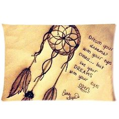 Vintage Retro Dream Catcher Custom Rectangle Pillowcase Pillow Cases Cover (one side) Standard Size Cloud Feather Catcher Quotes 16 Tattoo, Tatoo Henna, Tatoo Art, Tattoo Quotes, Tattoo Forearm, Sick Tattoo, Tattoo Time, Verse Tattoos, Dream Catcher Quotes