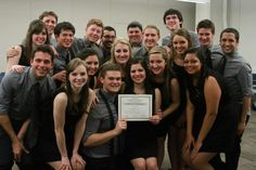 Vocal Point placing third at ICCA Quarterfinals!