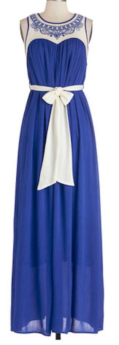 Bold blue maxi dress http://rstyle.me/n/gdnvrnyg6