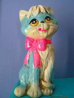 cat chalkware