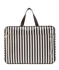 New Brown & White Extra Large Carry All Bag