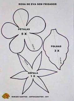 Bildergebnis für moldes de flores