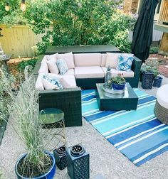Patio Sofa and Sectional Coffee Table Size, Large Coffee Tables, Beige Cushions, Patio Cushions, Outdoor Sectional, Sectional Sofa, Rattan Sofa, Single Sofa, Patio Furniture Sets