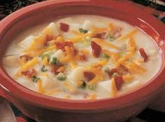Yum... I'd Pinch That! | Baked Potato Soup