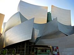 Frank Gehry's most well known Los Angeles structure is the Walt Disney ...  #architecture #Frank #Gehry Pinned by www.modlar.com