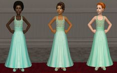 Something for your little flower girls at a Sim wedding.