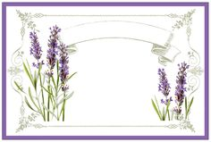 Lavender Labels Printable // The Graphics Fairy Graphics Fairy, Free Graphics, Vintage Prints, Vintage Art, Lavender Crafts, Lavender Bags, Lavender Sachets, Printable Labels, Printables