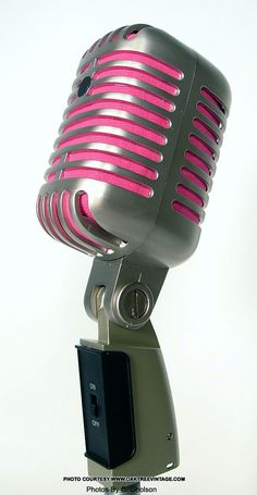 Pics For > Pink Microphone Stand