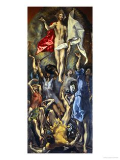Resurrection, El Greco.