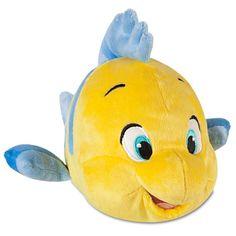 The Little Mermaid: Flounder Plush -- 10'' L | Plush | Disney Store