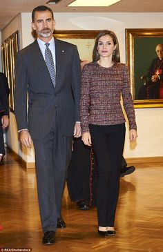 She joined her husband King Felipe VI for theSpanish Episcopal Conference at the Plenary ...